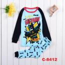 C-8412: Sleepsuit (Long Sleeve+Pant) --  16/1