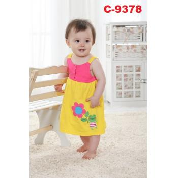 C-9378: Baby Dress 2pcs Set -  34 & 35