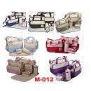 M-012: 5 in 1 Diaper Bag - Little Bear -- 33