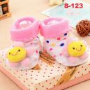 S-123: Cute 3D Anti-Slip Baby Socks (PACK WITH OPP BAG)--  6 (R)