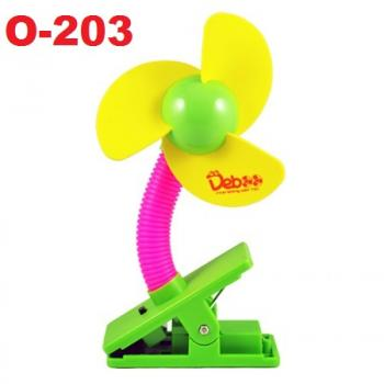 O-203: Deboo Clip-on Fan with USB Cable (Yellow) -- 29A (R)