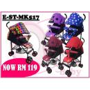 E-ST-MK517: Super lightweight foldable umbrella stroller ( **East Malaysia need pay postage fees RM90** )