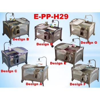 E-PP-H29: Luxury Baby Playpen & Travel Cot( **East Malaysia need pay postage fees RM160/Unit )