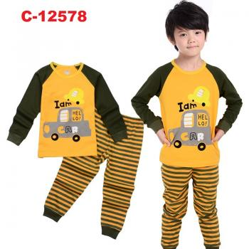 C-12578: Sleepsuit (Long Sleeve+Pant) -- 39
