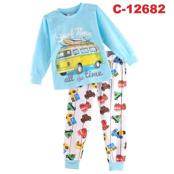 C-12682: Sleepsuit (Long Sleeve+Pant) -- 4