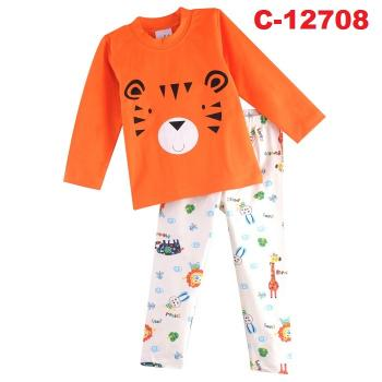 C-12708: Sleepsuit (Long Sleeve+Pant) -- F