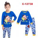 C-12738: Sleepsuit (Long Sleeve+Pant) -- 15/2