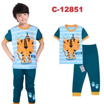 C-12851: Sleepsuit (Short Sleeve+Long Pant) -- 18/2