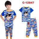C-12847: Sleepsuit (Short Sleeve+Long Pant) -- 38