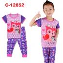 C-12852: Sleepsuit (Short Sleeve+Long Pant) -- 42