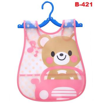 B-421: Cute Fashion Cartoon Bibs (R)