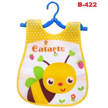 B-422: Cute Fashion Cartoon Bibs (R)