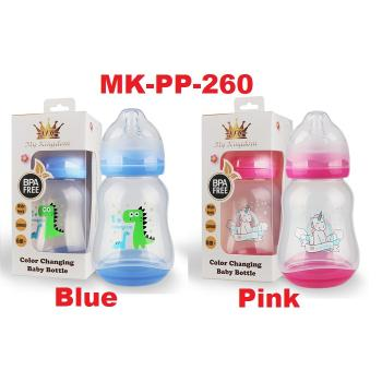 MK-PP-260: My Kingdom Color Changing Baby Bottle 260ml 0m+ (R)
