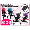 E-ST-T606:Stylish Lightweight BabyStroller ( **East Malaysia need pay postage fees RM120** )