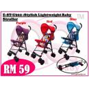 E-ST-U902 :Stylish Lightweight Baby Stroller ( **East Malaysia need pay postage fees RM60** )