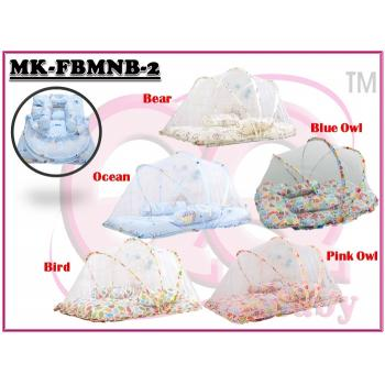 MK-FBMNB-2: My Kingdom Foldable Baby Mosquito Net Bed (R)