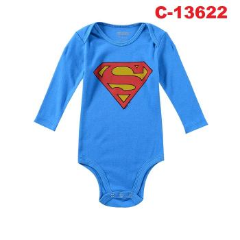 C-13622: Baby Long Sleeve Short Romper -- 16/1