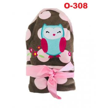 O-308: Baby Hooded Towel (R ) --    39