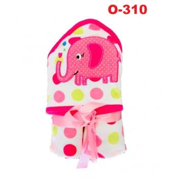 O-310: Baby Hooded Towel(R )  --    38