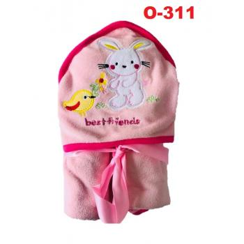 O-311: Baby Hooded Towel (R ) --    40