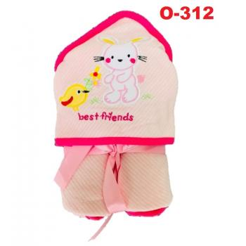 O-312: Baby Hooded Towel (R ) --    39