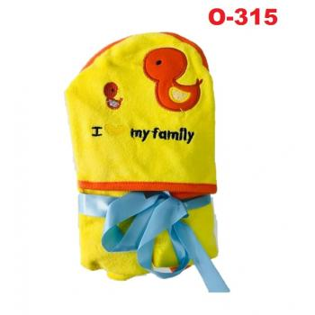 O-315: Baby Hooded Towel (R ) --    38