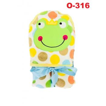 O-316: Baby Hooded Towel (R ) --    39