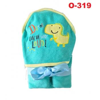 O-319: Baby Hooded Towel --    (R)