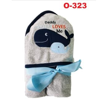 O-323: Baby Hooded Towel (R ) --    39