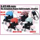 E-ST-MK-602:My kingdom Super lightweight  stroller ( **East Malaysia need pay postage fees RM75** )