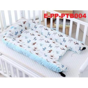 E-PP-PTB004: Baby Portable Crib Travel Bed -- (R)