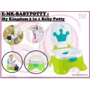E-MK-BABYPOTTY : My Kingdom 3 in 1 Baby Potty   ( **East Malaysia need pay postage fees RM45** )