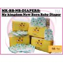 MK-BB-NB-DIAPERS: My kingdom New Born (36pcs) Baby Diaper (W/M'sia No free postage)( **Not Selling to East Malaysia **)