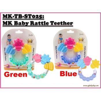 MK-TB-ST025: My Kingdom Baby Rattle Teether (R)