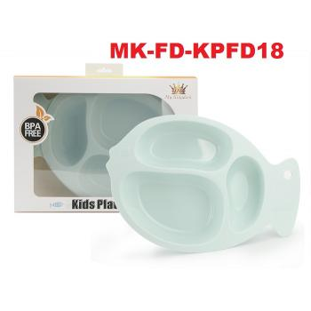 MK-FD-KPFD18 : My Kingdom - Kids plate fish divided (R)