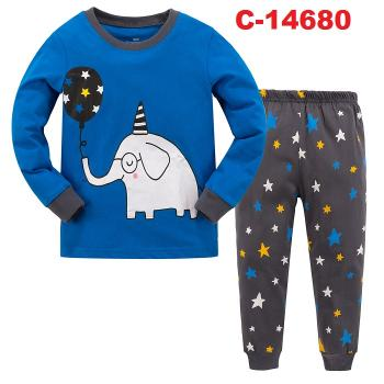 C-14680: Sleepsuit (Long Sleeve+Pant) -- C