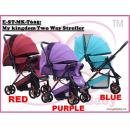 E-ST-MK-T605: My kingdom Two Way Stroller   ( **W/M'Sia Free Postage, E/M'Siapostage fees RM150** )