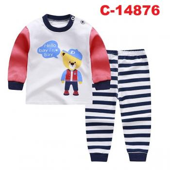 C-14876: Infant Casual/Sleepsuit --  16/2 & 15/2