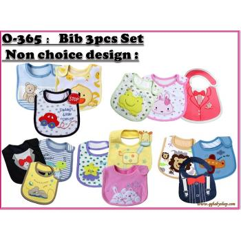 O-365 : Bib 3 pcs set - 22/2