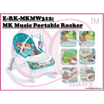 E-WK-MKMW312: My Kingdom Music Portable Rocker (**W/M'Sia Postage fee RM 10, E/M'Sia postage fees RM60)