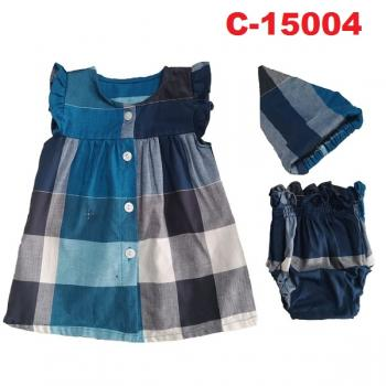 C-15004: Baby Dress 3pcs Set - 33/1