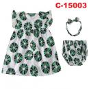 C-15003: Baby Dress 3pcs Set - 32A