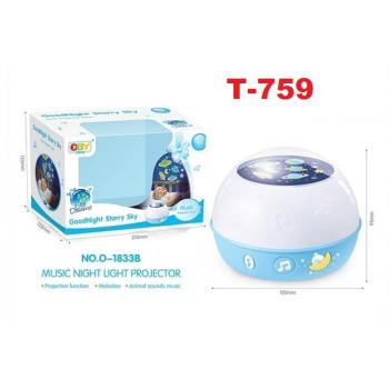 T-759: Goodnight Starry Sky Projector -- 5/2