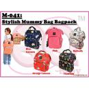 M-041: Stylish Mummy Bag Bagpack