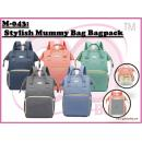 M-043: Stylish Mummy Bag Bagpack