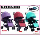 E-ST-MK-8008: Stylish lightweight  stroller ( **W/M'Sia Postage Free Postage, E/M'Sia postage fees RM75** )