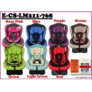 E-CS-LM211-768: Racing Style Baby Adjustable Car Seat ( W/M'Sia postage RM10/unit, E/M'Sia postage RM105 / Unit )