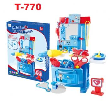 T-770: Medical Little Doctor Playset -- T21