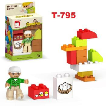 T-795: Creative Bricks Sets -- T3-2