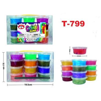T-799: Crystal Slime Set of 12 -- T16-1